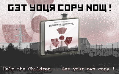 Get your own copy of the Chernobyl Charity Compilation !
